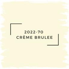 Benjamin Moore 2022-70  Crème Brulee