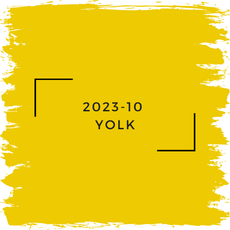 Benjamin Moore 2023-10  Yolk