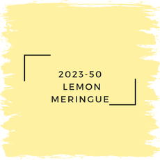 Benjamin Moore 2023-50  Lemon Meringue