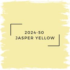 Benjamin Moore 2024-50  Jasper Yellow