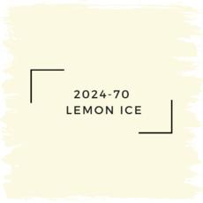 Benjamin Moore 2024-70  Lemon Ice