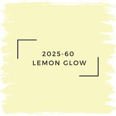Benjamin Moore 2025-60  Lemon Glow