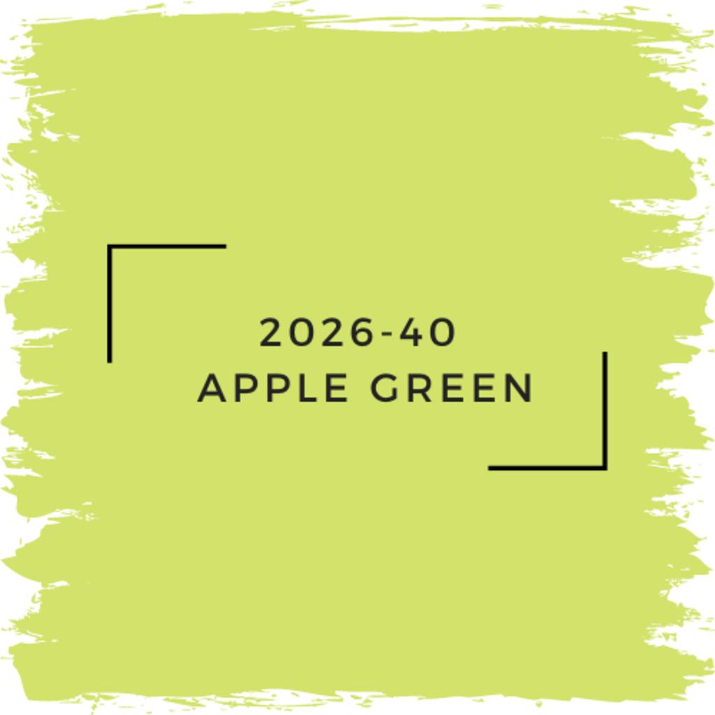 Benjamin Moore 2026-40  Apple Green
