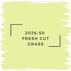Benjamin Moore 2026-50  Fresh Cut Grass