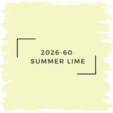 Benjamin Moore 2026-60  Summer Lime