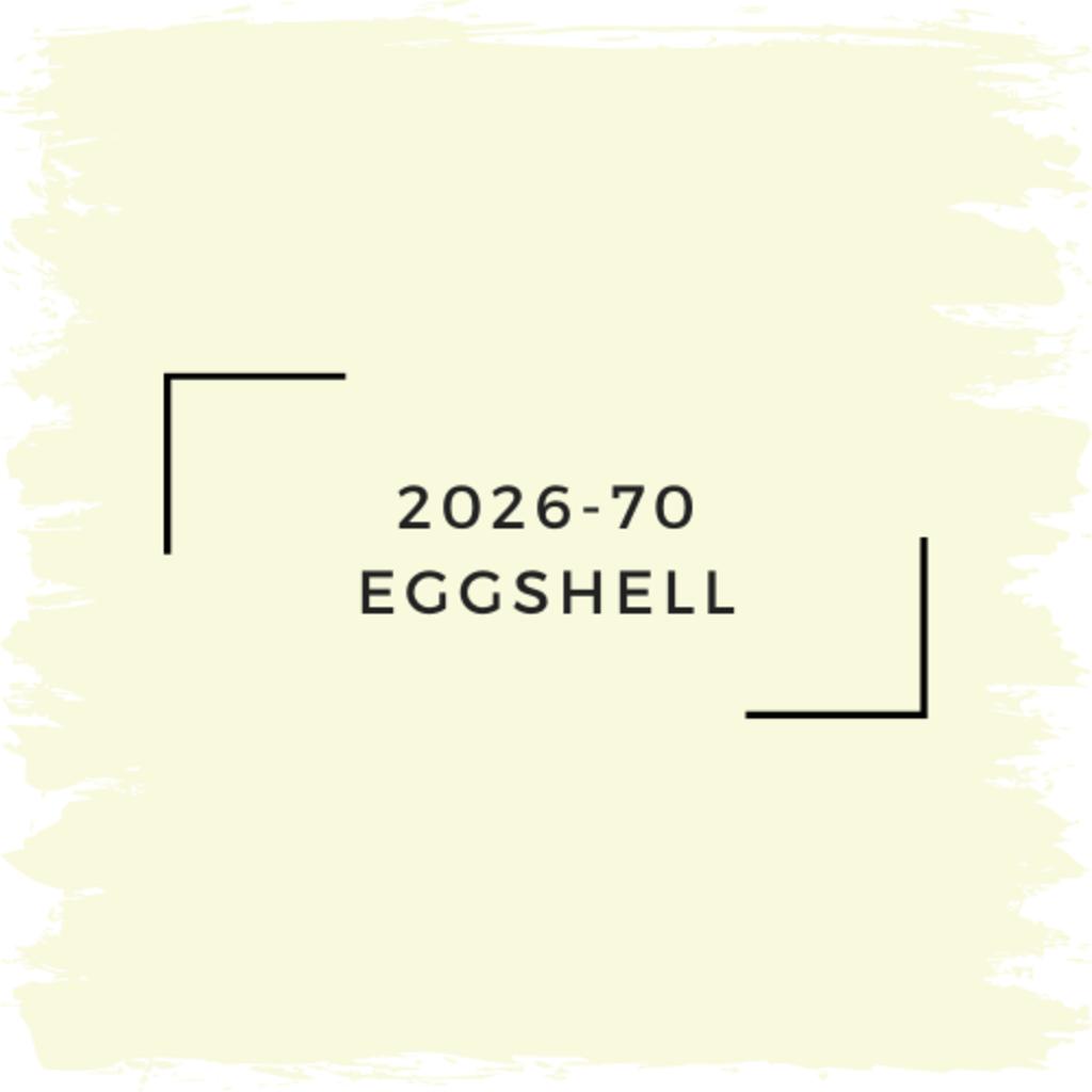 Benjamin Moore 2026-70 Eggshell
