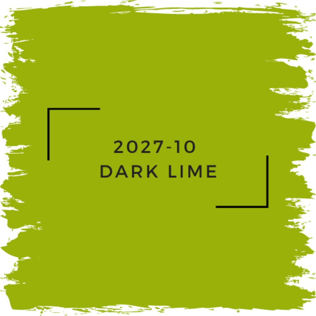 Benjamin Moore 2027-10  Dark Lime