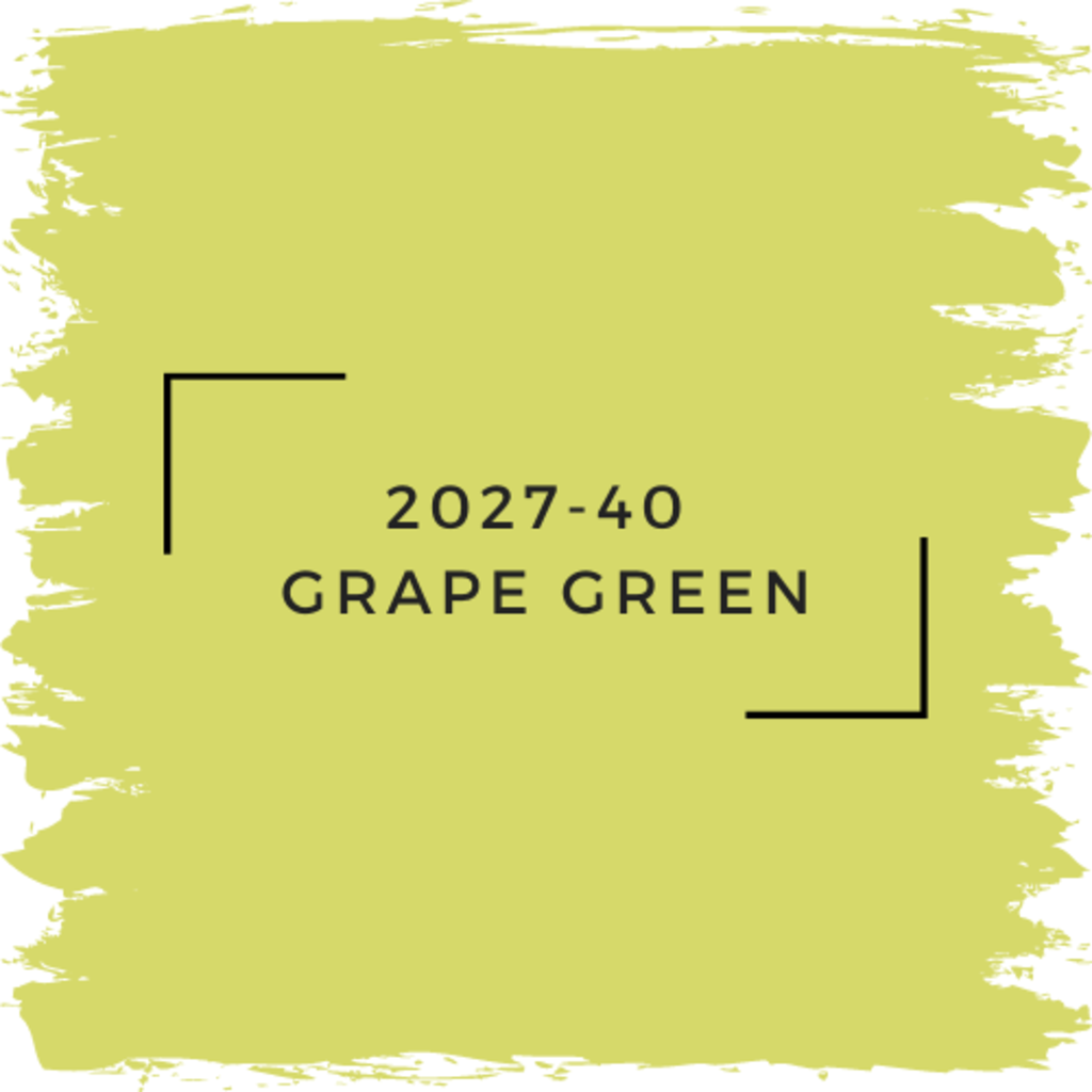 Benjamin Moore 2027-40  Grape Green