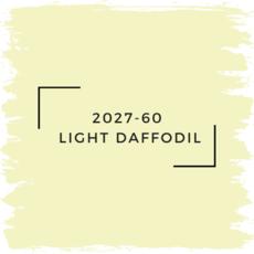 Benjamin Moore 2027-60  Light Daffodil