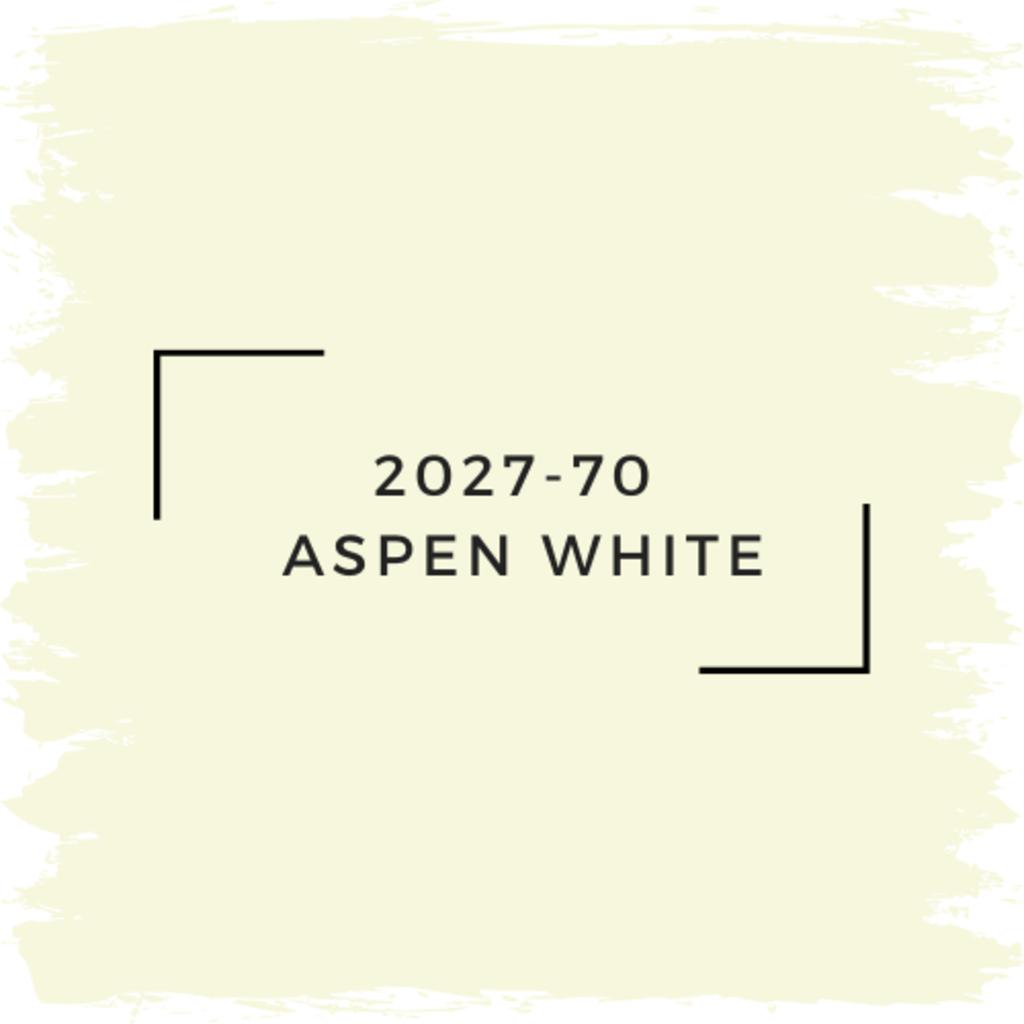 Benjamin Moore 2027-70  Aspen White