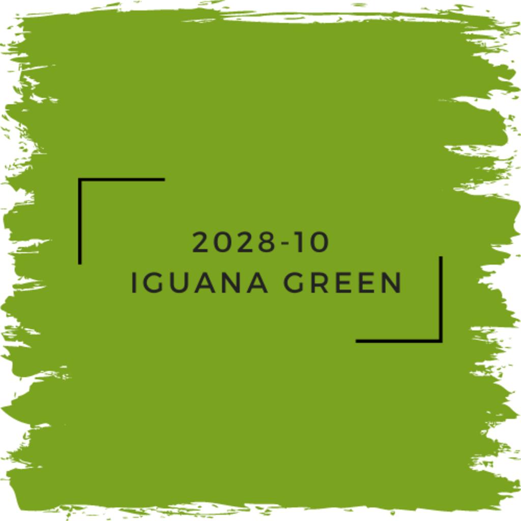 Benjamin Moore 2028-10  Iguana Green