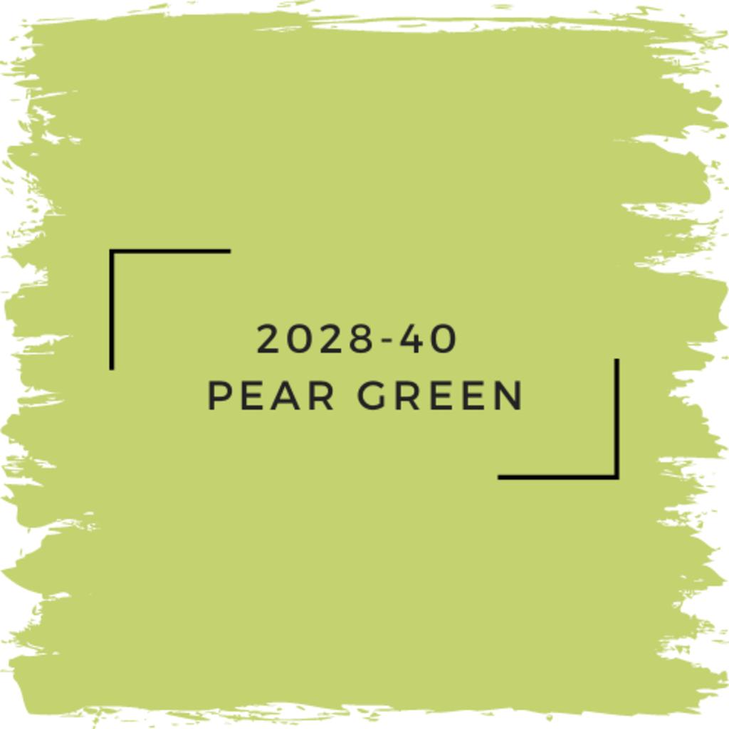 Benjamin Moore 2028-40  Pear Green