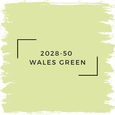 Benjamin Moore 2028-50  Wales Green