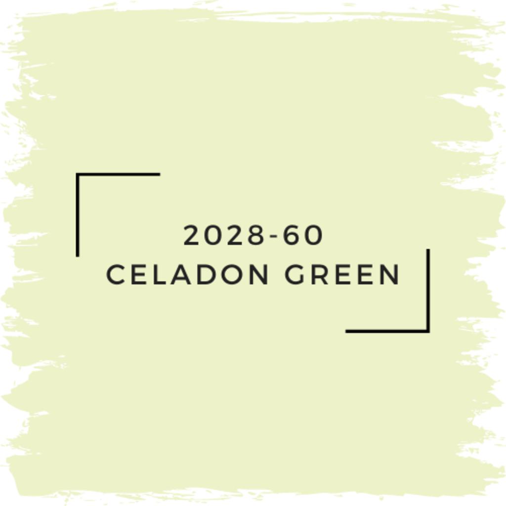 Benjamin Moore 2028-60 Celadon Green