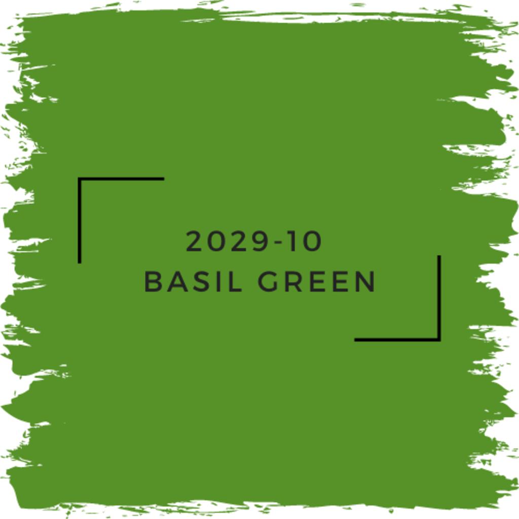 Benjamin Moore 2029-10  Basil Green