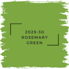 Benjamin Moore 2029-30 Rosemary Green