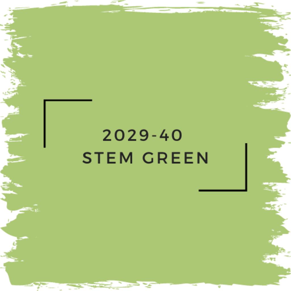 Benjamin Moore 2029-40  Stem Green
