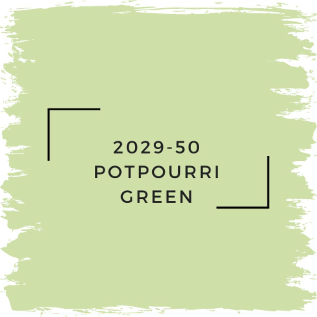 Benjamin Moore 2029-50 Potpourri Green