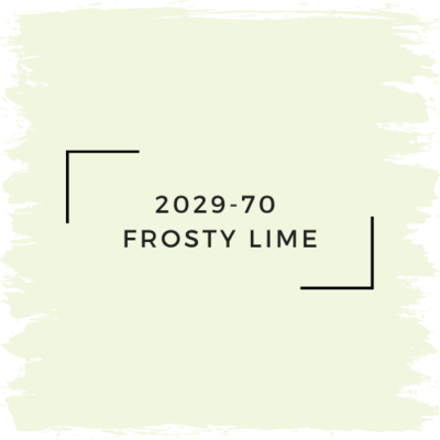 Benjamin Moore 2029-70  Frosty Lime