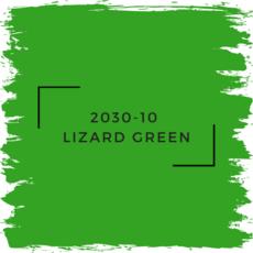 Benjamin Moore 2030-10  Lizard Green
