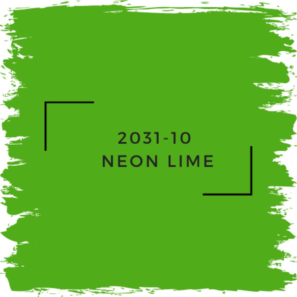 Benjamin Moore 2031-10  Neon Lime