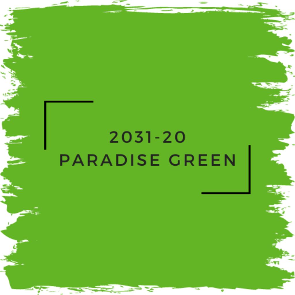 Benjamin Moore 2031-20 Paradise Green
