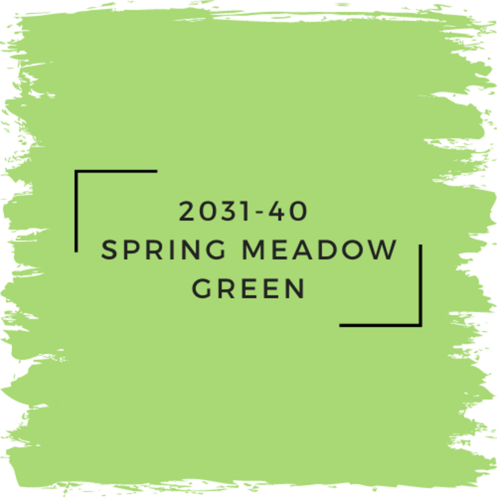 Benjamin Moore 2031-40  Spring Meadow Green