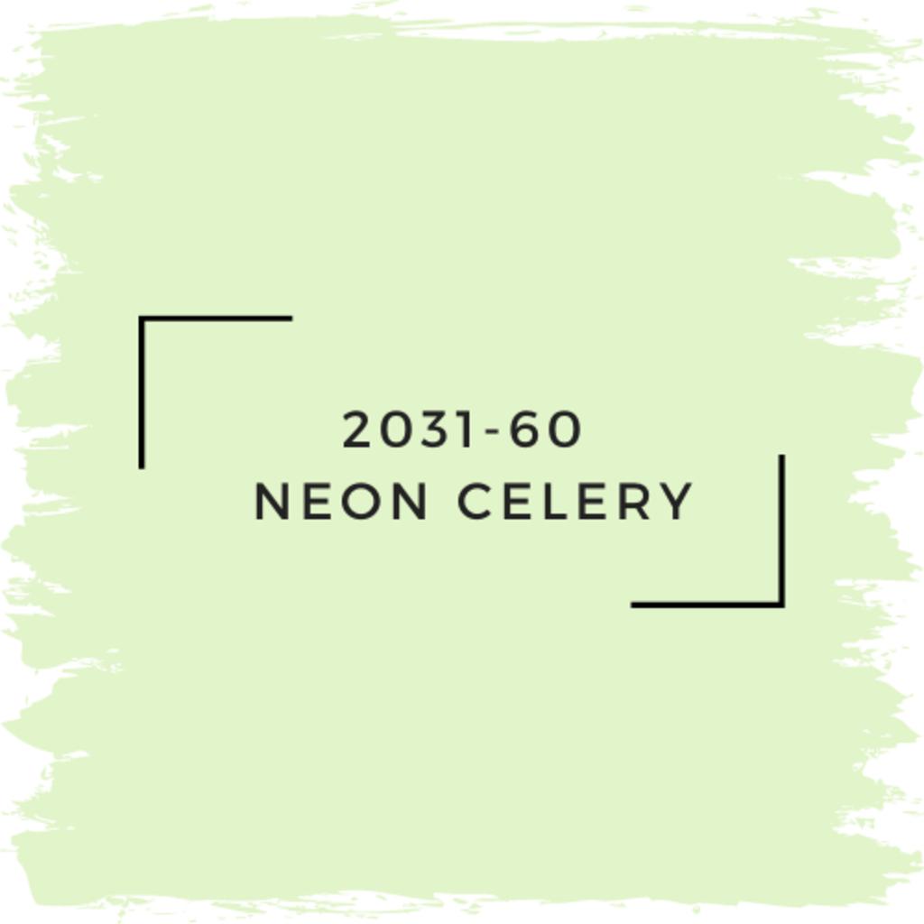 Benjamin Moore 2031-60  Neon Celery