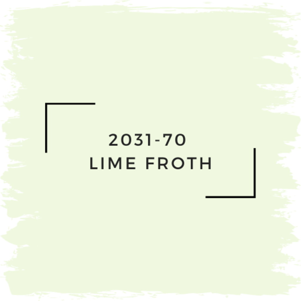Benjamin Moore 2031-70  Lime Froth