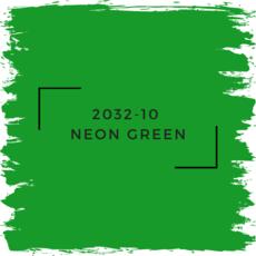 Benjamin Moore 2032-10  Neon Green