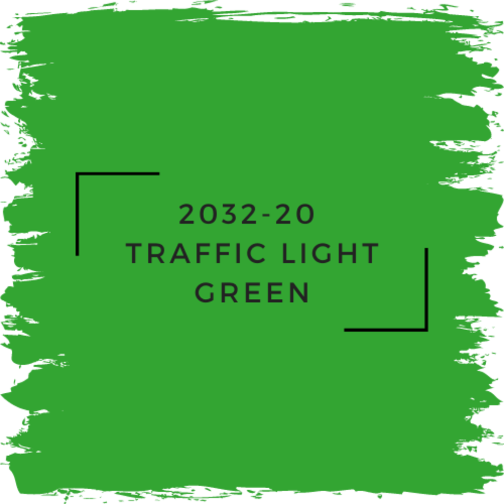 Benjamin Moore 2032-20  Traffic Light Green