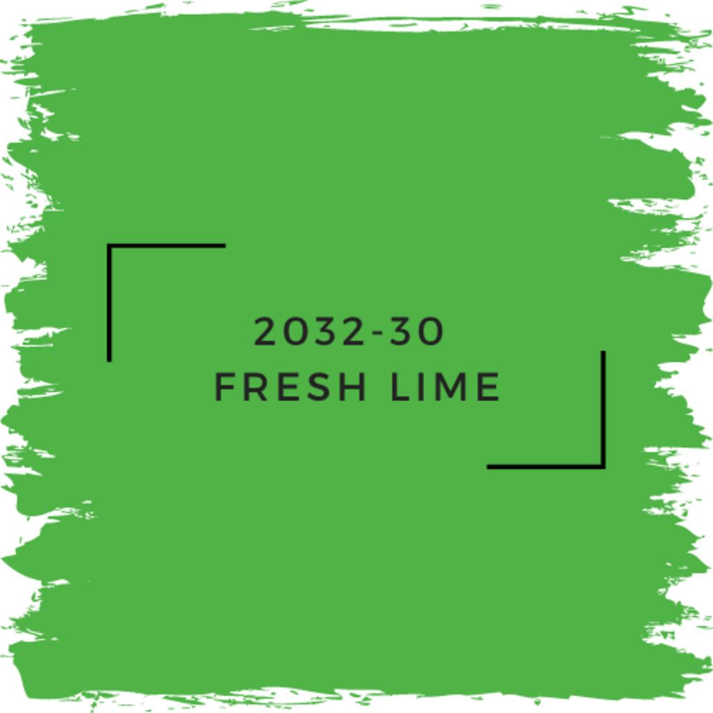 Benjamin Moore 2032-30  Fresh Lime