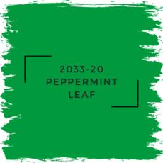 Benjamin Moore 2033-20 Peppermint Leaf
