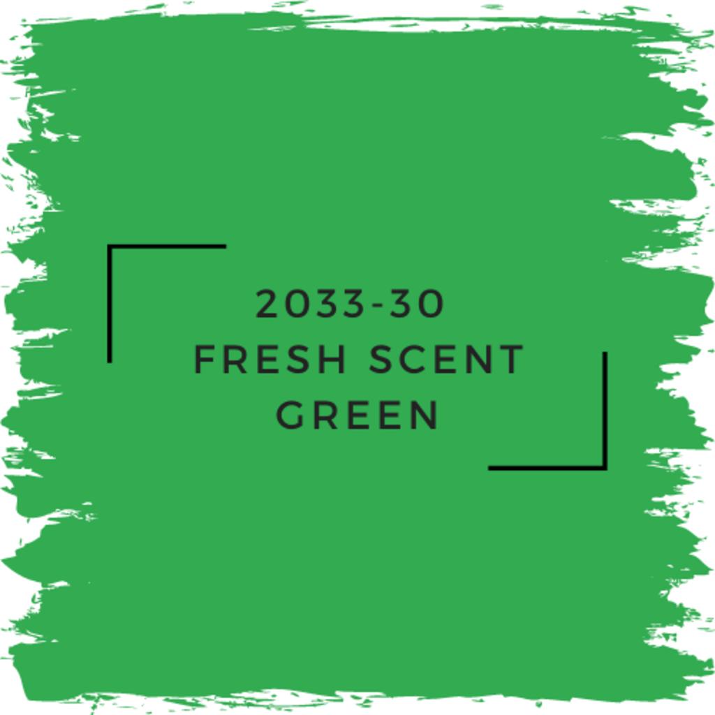 Benjamin Moore 2033-30  Fresh Scent Green