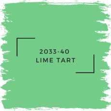 Benjamin Moore 2033-40  Lime Tart