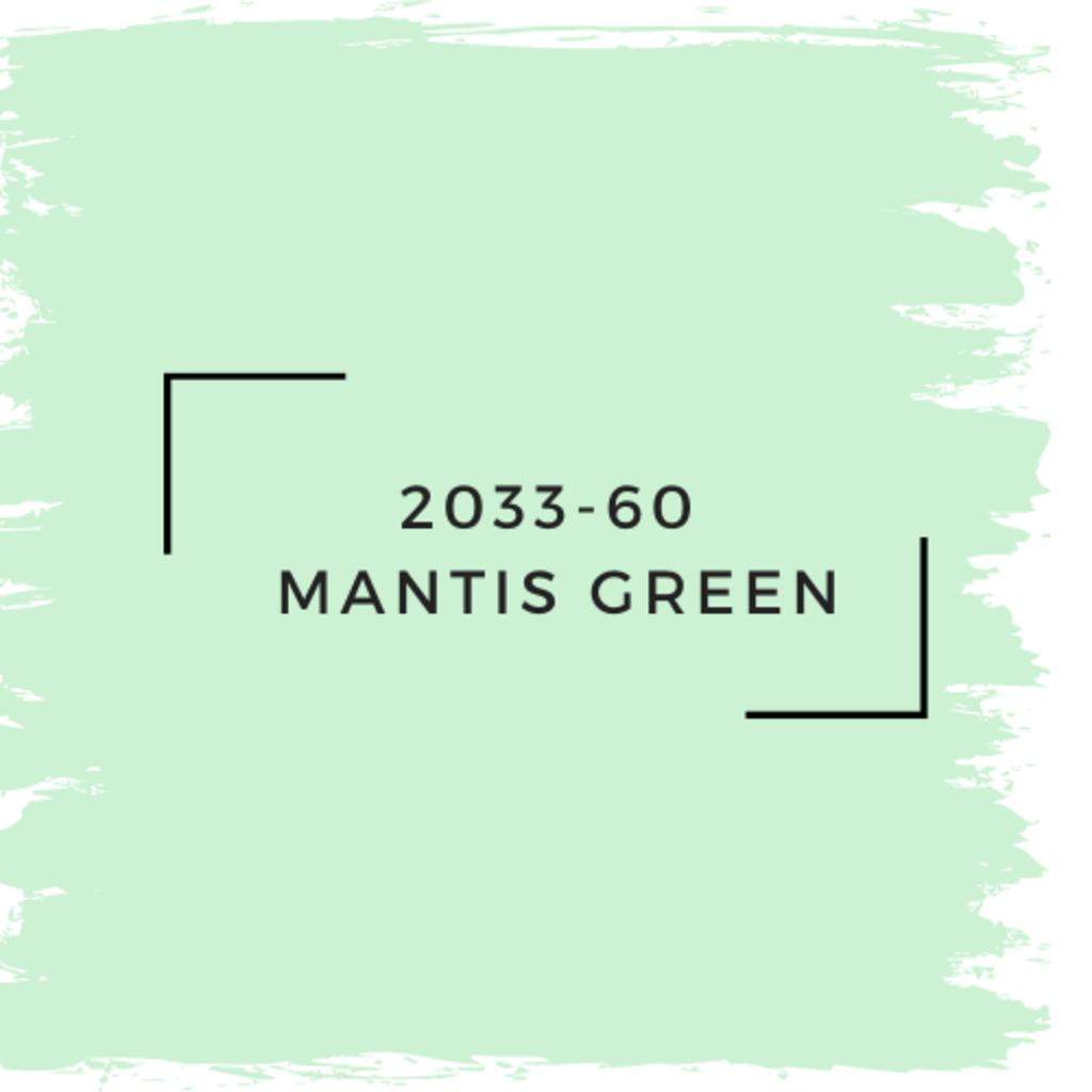 Benjamin Moore 2033-60  Mantis Green