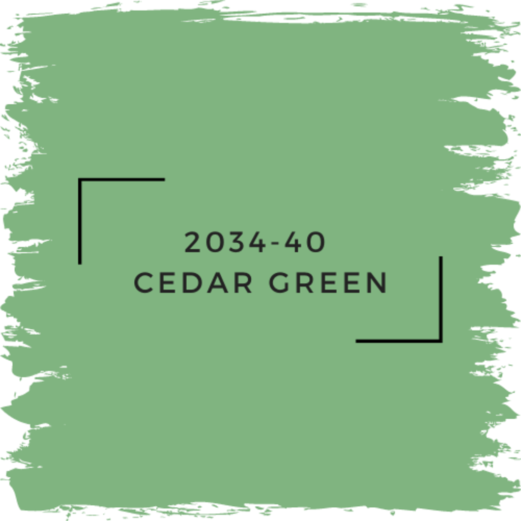 Benjamin Moore 2034-40  Cedar Green