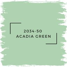 Benjamin Moore 2034-50  Acadia Green