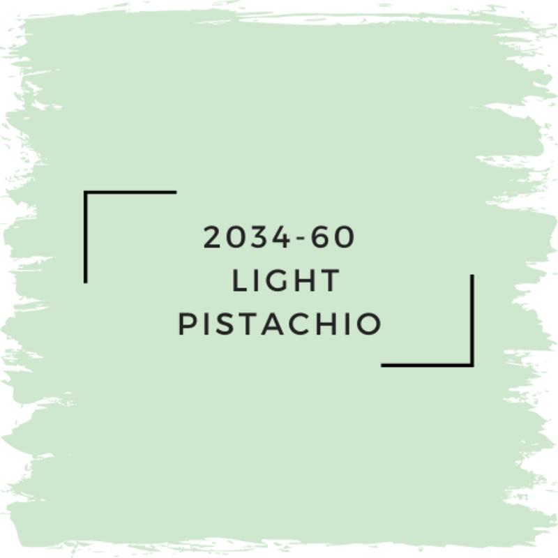 Benjamin Moore 2034-60  Light Pistachio