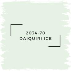 Benjamin Moore 2034-70 Daiquiri Ice