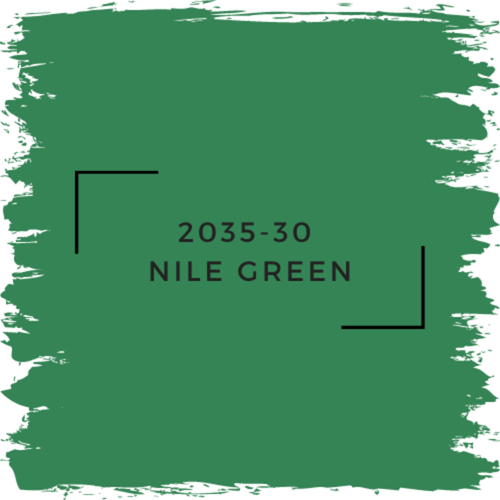 Benjamin Moore 2035-30  Nile Green