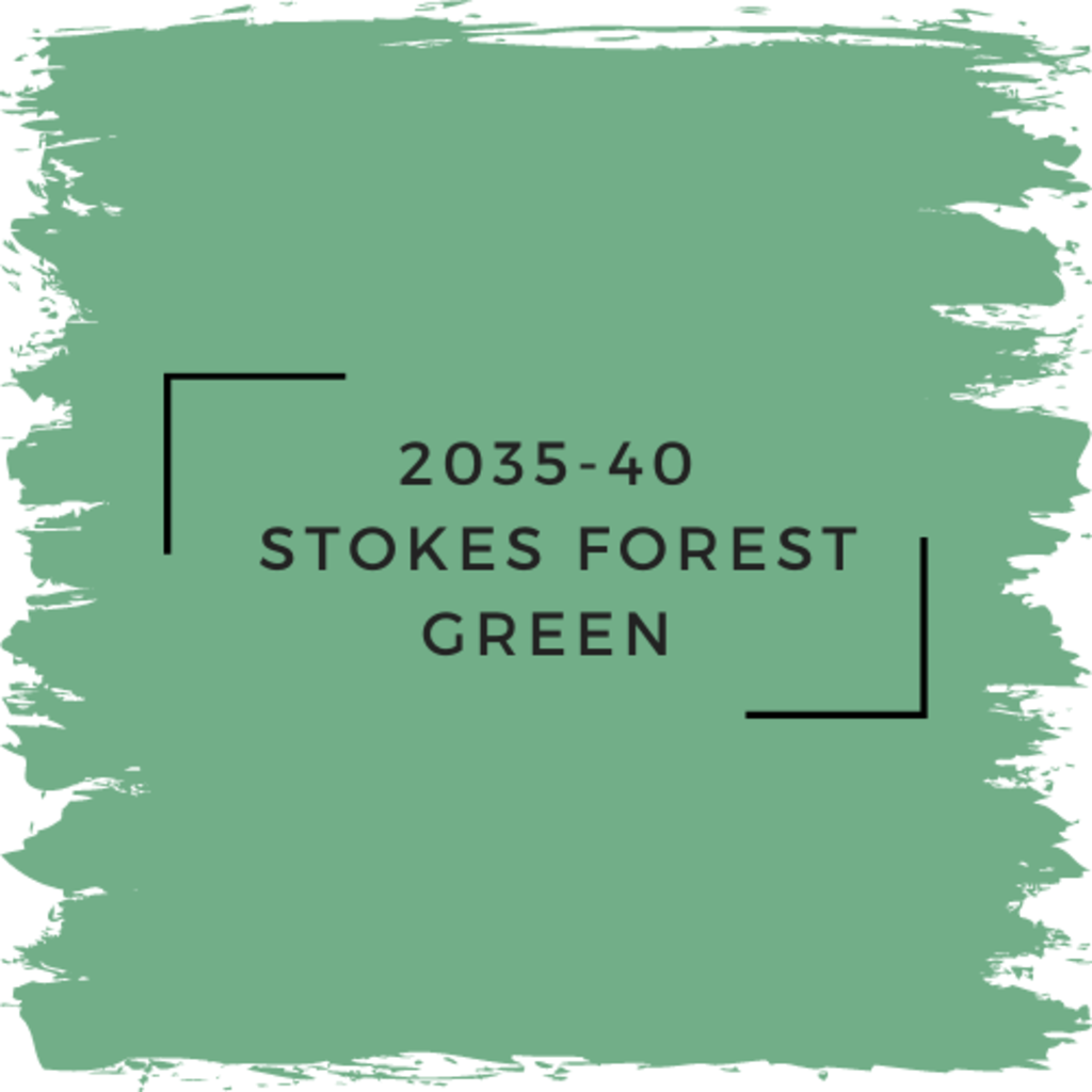 Benjamin Moore 2035-40  Stokes Forest Green