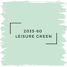 Benjamin Moore 2035-60  Leisure Green