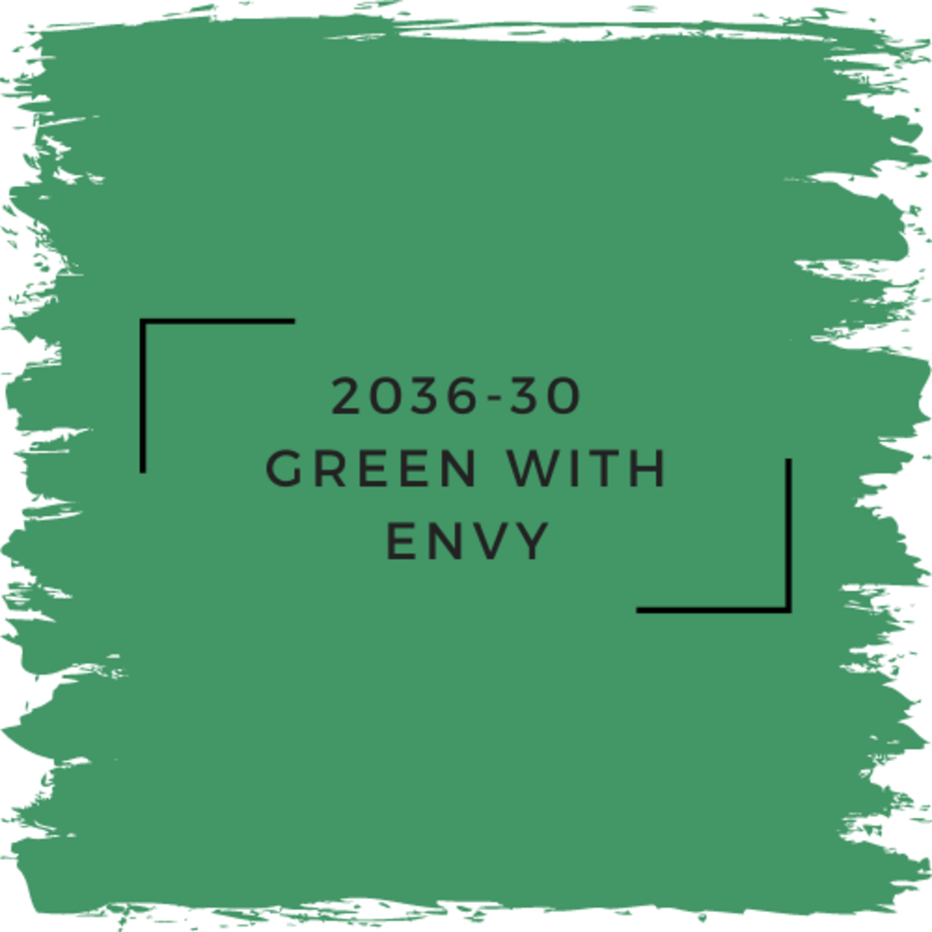 Benjamin Moore 2036-30  Green With Envy