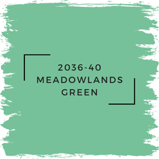Benjamin Moore 2036-40 Meadowlands Green