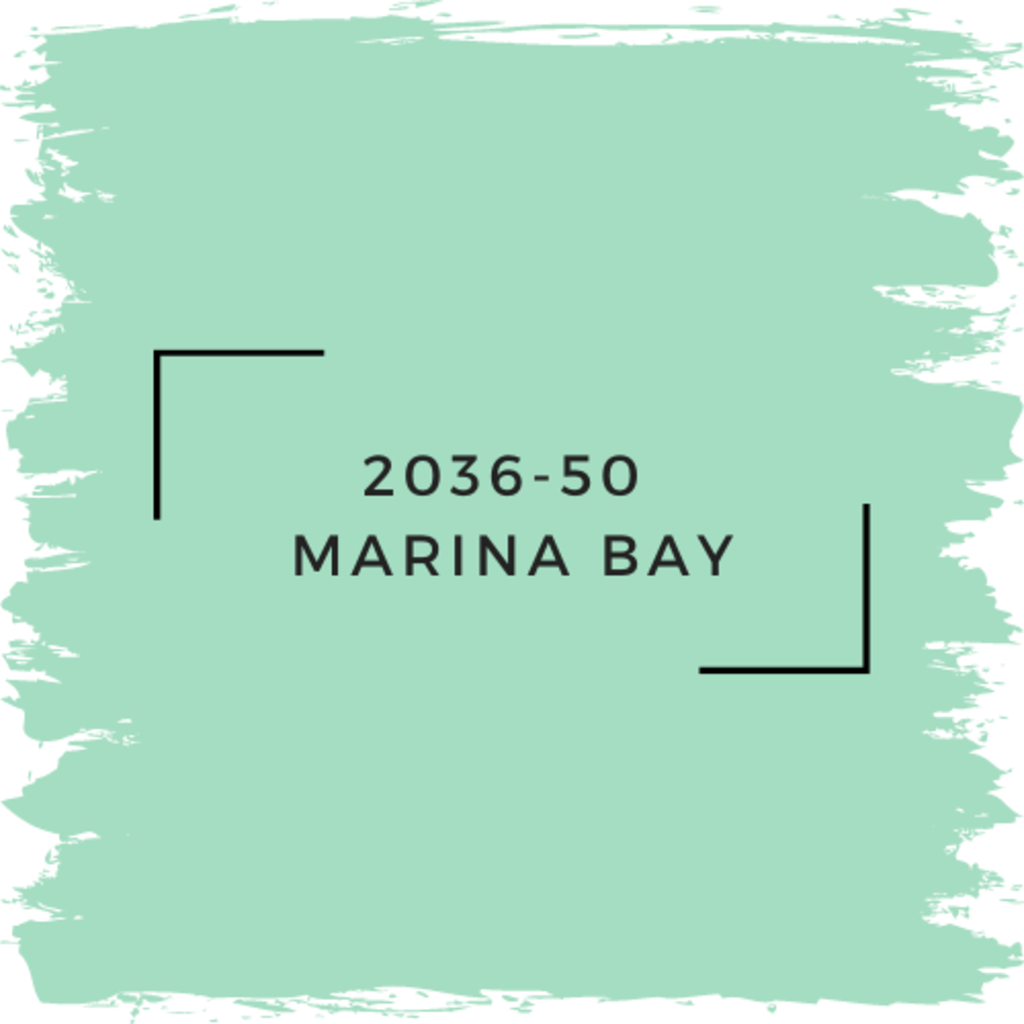 Benjamin Moore 2036-50  Marina Bay