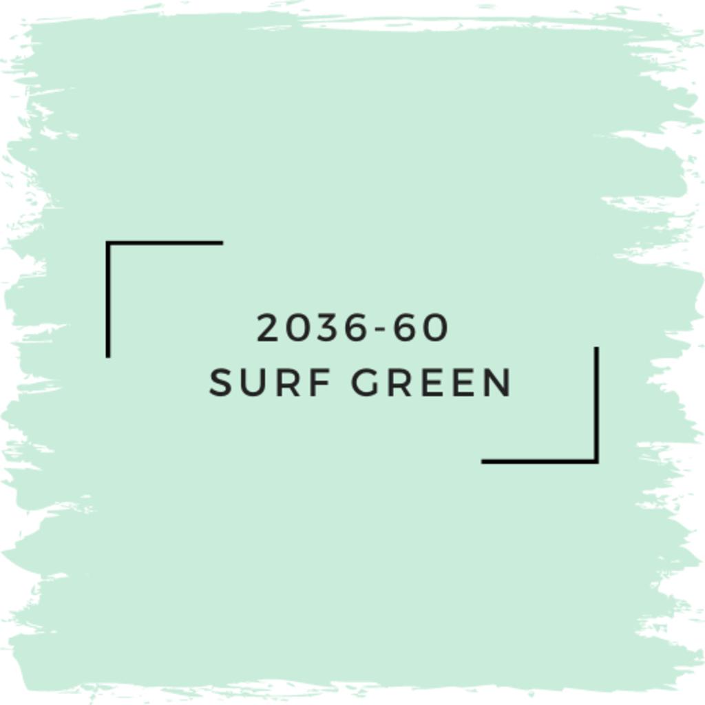 Benjamin Moore 2036-60  Surf Green