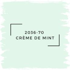 Benjamin Moore 2036-70  Crème De Mint