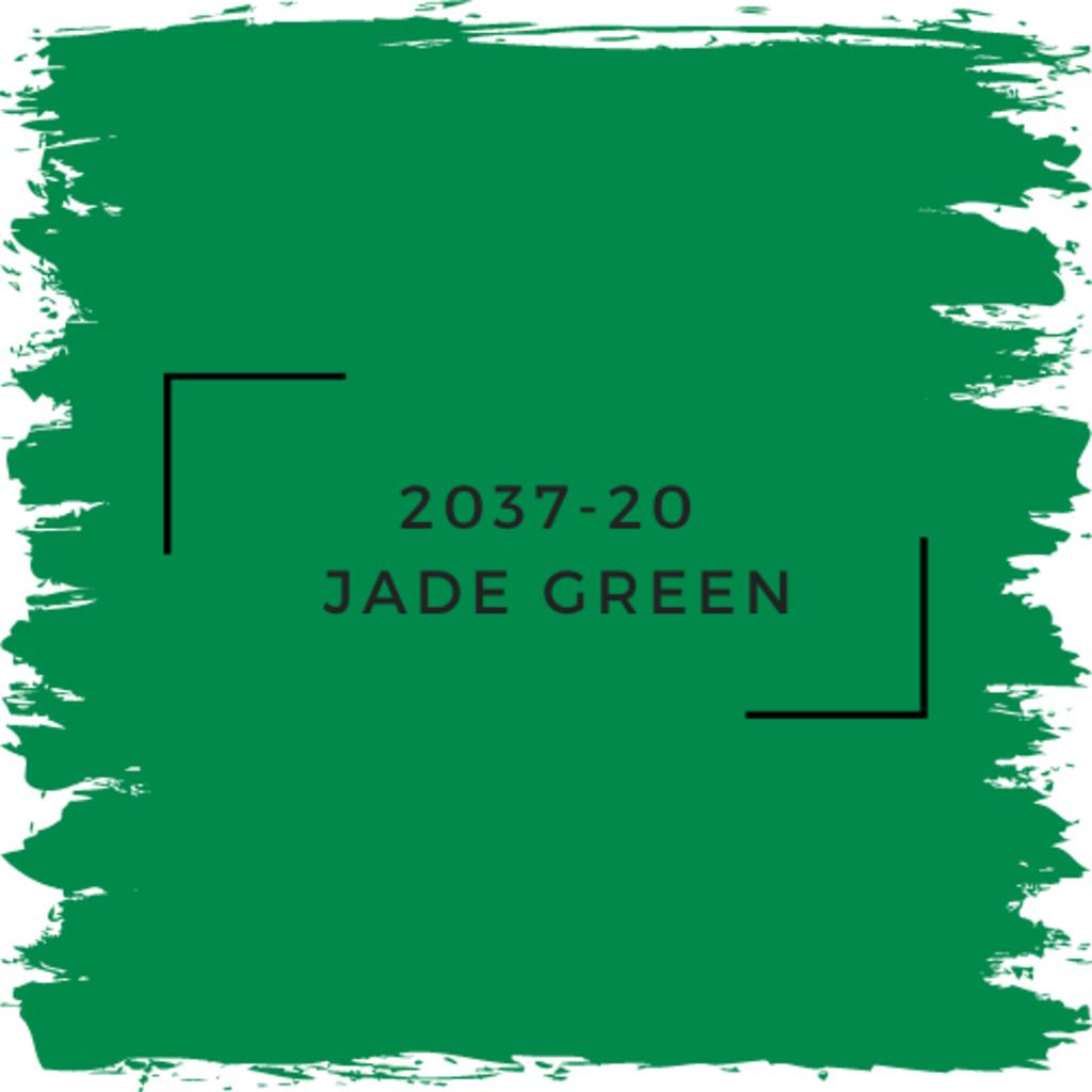 Benjamin Moore 2037-20  Jade Green
