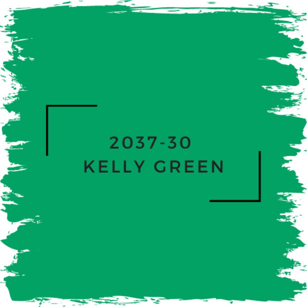 Benjamin Moore 2037-30  Kelly Green